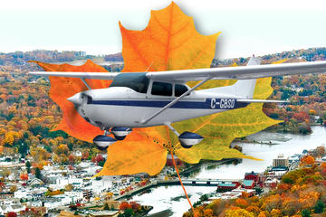 Fall Colors Air Tour in Niagara