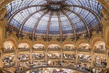 Descanso para hacer compras en las Galeries Lafayette de París y...