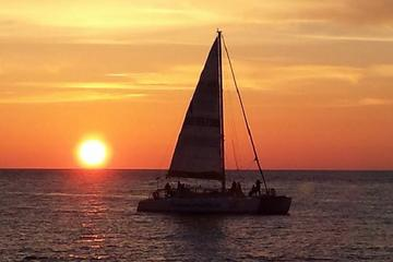 Day Trip Sunset Sail on The Footloose Catamaran near Panama City Beach, Florida