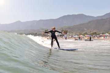 Private Surf Lesson in Santa Barbara