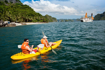 Halong Bay Kayaking Explorer 3 Days 2...