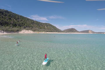 Stand Up Paddle 4WD Day Trip from Noosa Including Great Beach Drive Experience