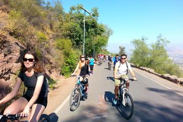 Excursão de bicicleta para grupos pequenos na Colina San Cristobal