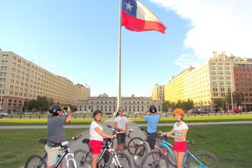 Excursão de bicicleta pelo centro...