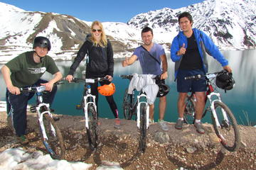 Excursão de mountain bike para Embalse el Yeso e Vale do Maipo