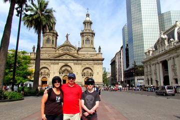 Full-Day Private Bike Tour of Santiago