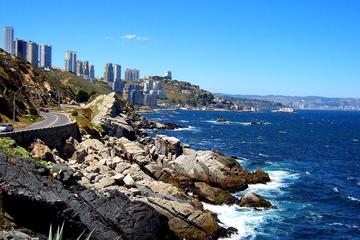 Recorrido privado de un día por Concón, Viña del Mar y Valparaíso con...