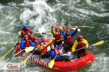Day Trip Family-Friendly Whitewater Rafting near Clearwater, Canada