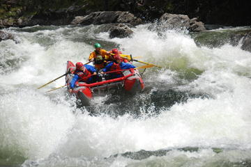 Day Trip High Adventure Half-Day Whitewater Rafting Including Lunch near Clearwater, Canada