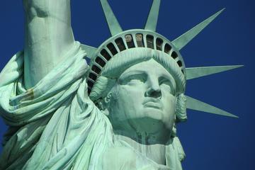 Statue of Liberty Ellis Island Pedestal Access plus Double-Decker Bus Tour