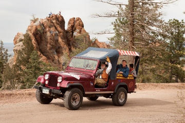 Colorado Springs Foothills Jeep Tour