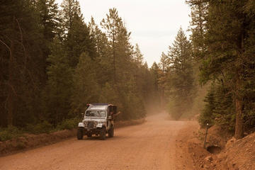 Day Trip JEEP TOUR - High Country near Colorado Springs, Colorado