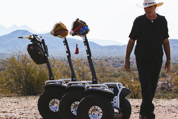 Off-road Segway at fort McDowell