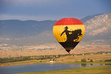Voo de balão de ar quente em Colorado...