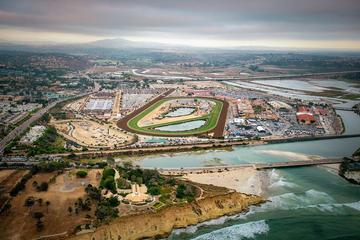Day Trip Private Helicopter Tour over Five Local Towns A Racetrack And Lakes near Oceanside, California