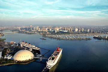 Privater Hubschrauberrundflug über Long Beach und Los Angeles