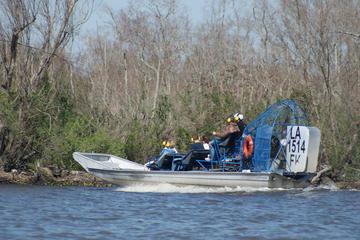Tour mit dem Airboat durch die Sumpflandschaft in kleiner Gruppe