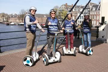 Stadsrundtur i Amsterdam med Ninebot-skoter