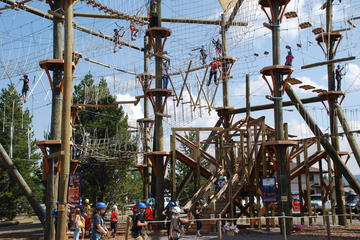 Zipline Adventure Park All Day Fun in...