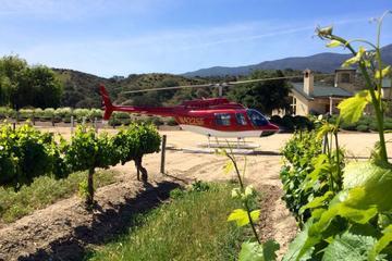 Monterey-Hubschraubererlebnis einschließlich Wrath Weingutführung