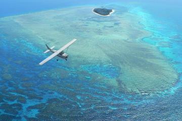 ケアンズ発グレート バリア リーフの遊覧飛行(グリーン島、 アーリントン リ…