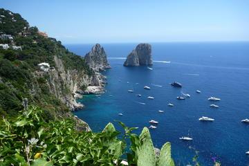 Ganztägige Capri-Bootstour ab Praiano...