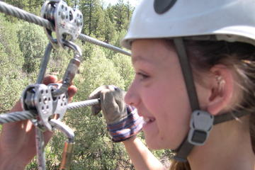 Day Trip Zip Line and Family Rafting Package near Durango, Colorado