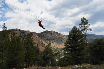 Browns Canyon Half Day Rafting plus Mountaintop Zipline