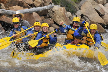 Book Browns Canyon Half Day Whitewater Rafting on Viator