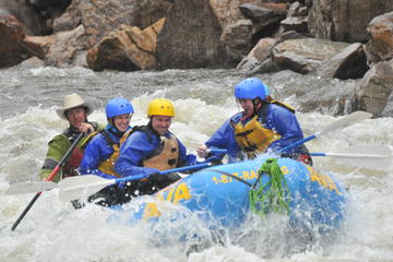 Day Trip Numbers and Narrows Whitewater Rafting near Buena Vista, Colorado