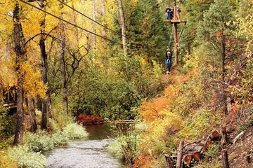 Book Upper Clear Creek plus Cliffside Zipline on Viator