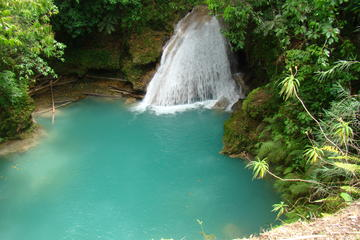 Breathtaking Waterfalls Tour: Dunn's River and Blue Hole