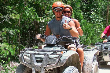 Akumal Full-Day ATV and Zipline Adventure Tour