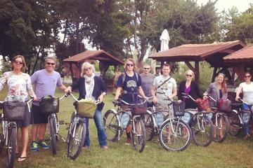 Excursão de bicicleta como na Antiga e Nova Zagreb