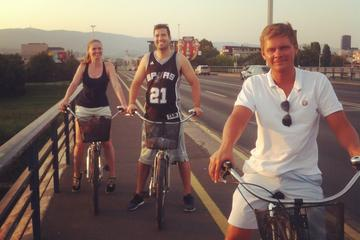 Excursão de bicicleta na Nova Zagreb