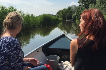 Halvdagstur: Nederländernas landsbygd på en båt från Amsterdam