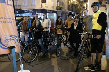 Visite en vélo nocturne de 3heures à...