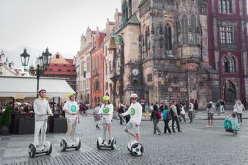 Gran recorrido por la ciudad de Praga en Ninebot