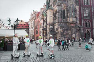 Medieval Prague Ninebot City Tour
