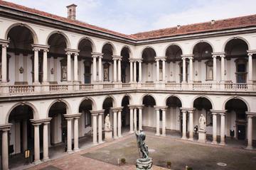 Excursão na galeria de arte da Pinacoteca di Brera