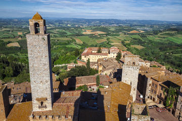 Tuscany with Chianti, Siena, San Gimignano from Florence