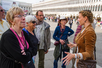 Welcome to Venice Small Group Walking Tour with Basilica San Marco...