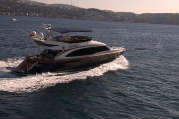 Visite touristique sur le Bosphore sur un yacht privé au départ...