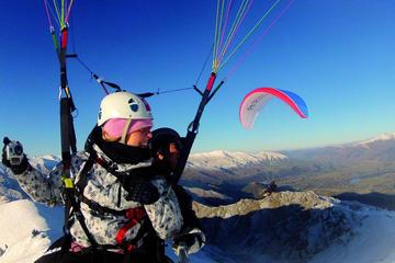 Coronet Peak Tandem Paragliding In Winter