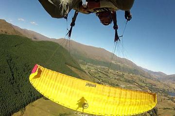 Parapente en tandem à Coronet Peak à 1250mètres