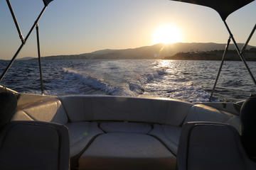 Palma de Mallorca Private Evening Bike Tour With Speedboat Sunset Ride