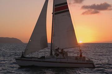Sunset Catamaran Cruise on Oahu's...