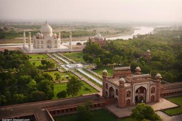 Golden Triangle With Varanasi includes Sunrise view Of Taj Mahal
