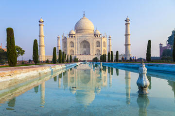 Private Tour to Agra From Delhi Including Taj Mahal and Agra Fort