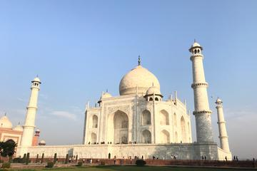 Sunrise Visit Of Taj Mahal From Delhi